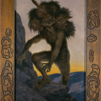 Theodor Kittelsen, Bergtrold/Mountain troll