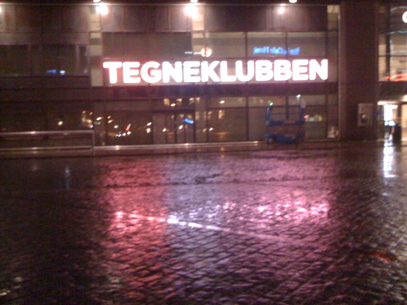 Tegneklubben på Oslo S